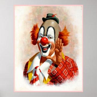Clown die 2 schildert poster