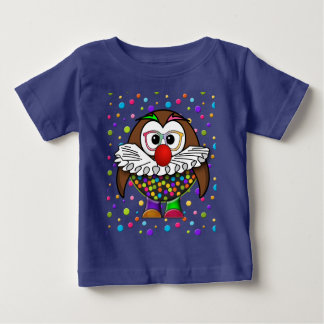 clown uil baby t shirts