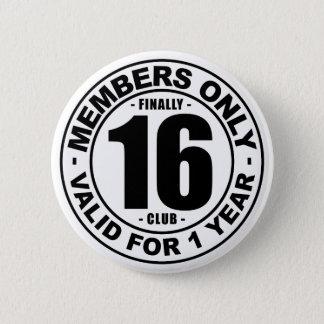 Club tot slot 16 ronde button 5,7 cm