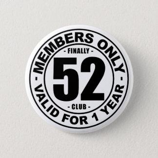 Club tot slot 52 ronde button 5,7 cm