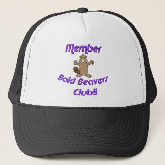 Club van de Bevers van het lid de Kale Trucker Pet