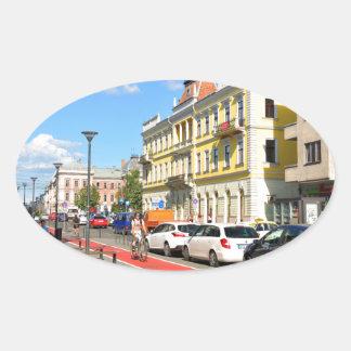 Cluj Napoca, Roemenië Ovale Stickers