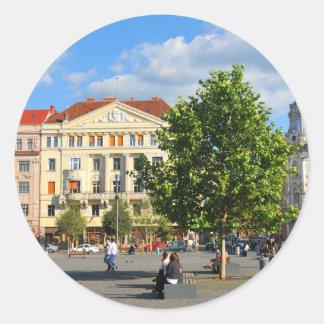 Cluj Napoca, Roemenië Ronde Stickers