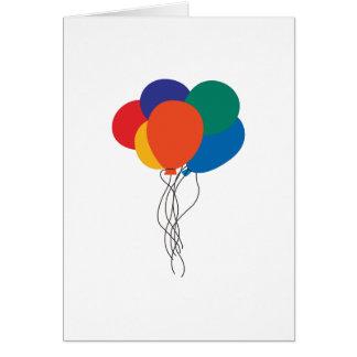 Cluster van Ballons Briefkaarten 0