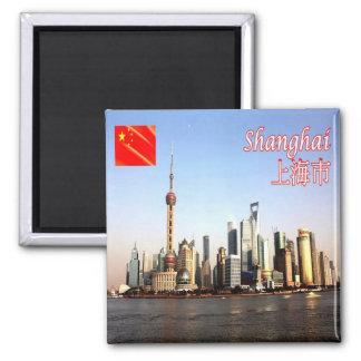 CN - de horizon van China - van Shanghai Magneet