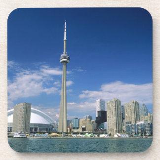 CN Toren en Skydome in Toronto, Ontario, Onderzetter