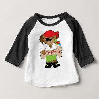Co-piraat Hond Baby T Shirts
