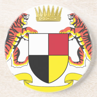 Coat_of_arms_of_the_Federated_Malay_States Zandsteen Onderzetter