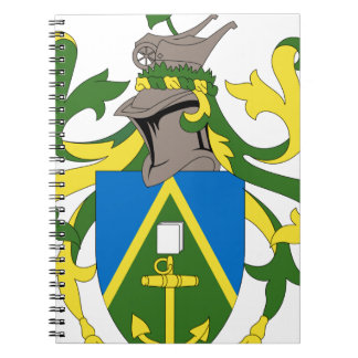Coat_of_arms_of_the_Pitcairn_Islands Ringband Notitieboeken