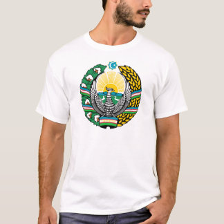 Coat_of_arms_of_Uzbekistan_cyrillic T Shirt