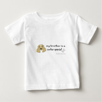 cocker-spaniël baby t shirts