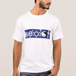 """Coëxisteer Parodie - het """"Seksistische"""" Overhemd T Shirt"""