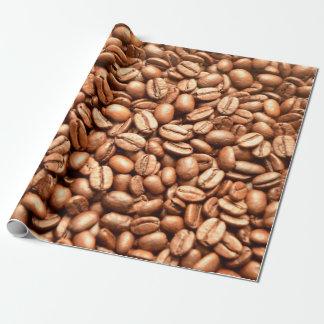 Coffeehouse van Barista het Patroon van de Bonen Cadeaupapier