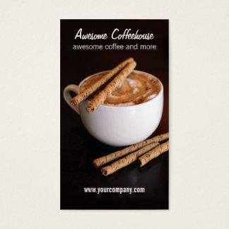 coffeehouse visitekaartjes