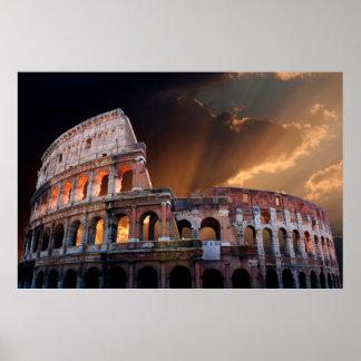 Coliseum van Oud Rome Poster