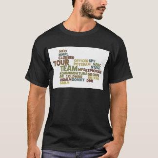 Collage 3 van het Sleutelwoord van Coldwar T Shirt