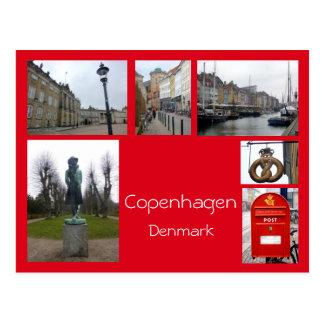 Collage 3 van Kopenhagen Briefkaart