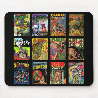 Collage van de Dekking van het Boek van Mousepad Muismat
