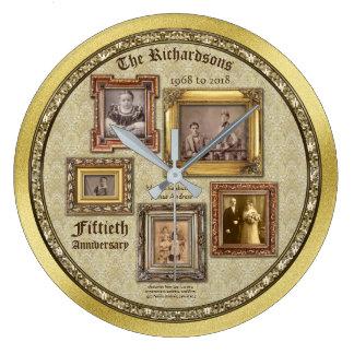Collage van de Lijsten van het Jubileum van de Ronde Klok Large