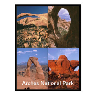 Collage van de Pijnen van het Zandsteen van het Briefkaart