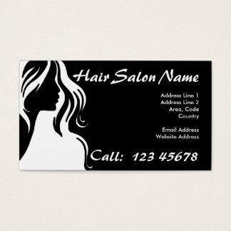 Collectie het van de Bedrijfs salon van het haar Visitekaartjes