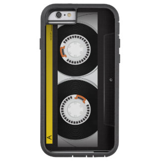 Collectie van Retro AudioBanden van de Cassette Tough Xtreme iPhone 6 Hoesje