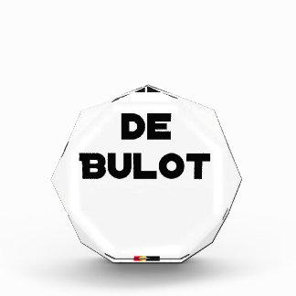 COLLEGA VAN BULOT - Woordspelingen - François Stad Acryl Prijs