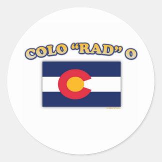 Colo rad O Ronde Sticker