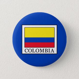 Colombia Ronde Button 5,7 Cm