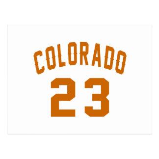 Colorado 23 Design van de Verjaardag Briefkaart