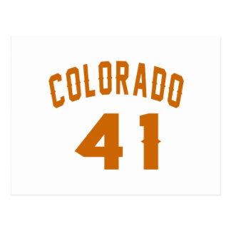 Colorado 41 Design van de Verjaardag Briefkaart