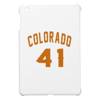 Colorado 41 Design van de Verjaardag iPad Mini Hoesje