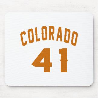 Colorado 41 Design van de Verjaardag Muismat