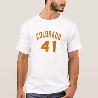 Colorado 41 Design van de Verjaardag T Shirt