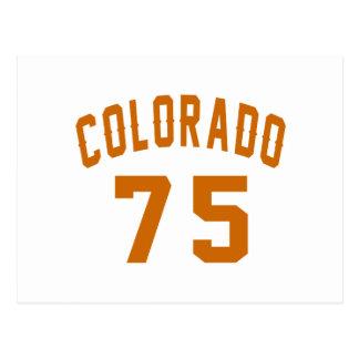 Colorado 75 Design van de Verjaardag Briefkaart