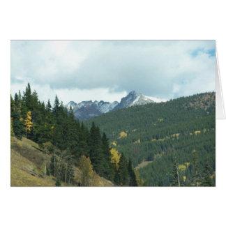 Colorado in de herfst briefkaarten 0