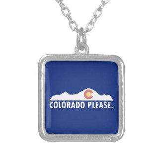 Colorado tevreden zilver vergulden ketting
