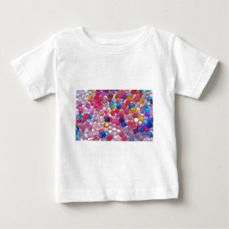 colore de textuur van geleiballen baby t shirts