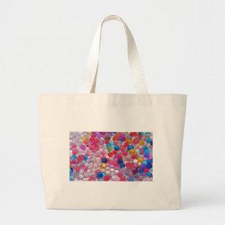 colore de textuur van geleiballen jumbo draagtas