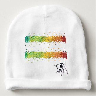 colorized baby beanie baby mutsje