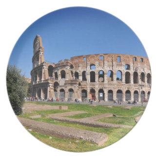 Colosseum in Rome, Italië Melamine+bord