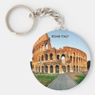 COLOSSEUM, ROME ITALIË BASIC RONDE BUTTON SLEUTELHANGER