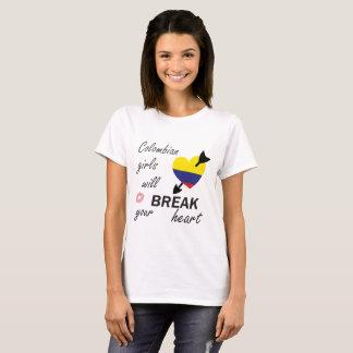 Columbiaanse Heartbreaker T Shirt