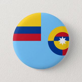 Columbiaanse Luchtmacht, de vlag van Colombia Ronde Button 5,7 Cm