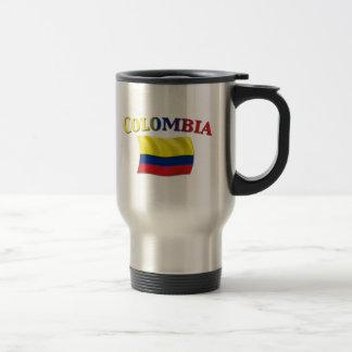 Columbiaanse Vlag 2 Reisbeker
