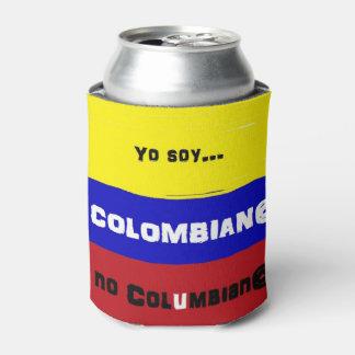 Columbiaanse vlag blikjeskoeler