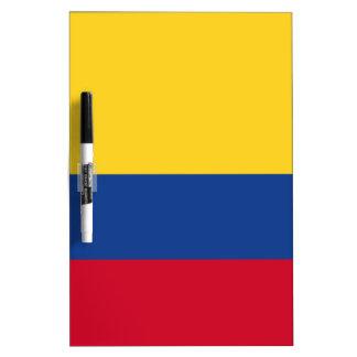 Columbiaanse vlag whiteboard