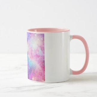 Com detalhe rosa van Galáxia van Caneca Mok