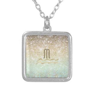 Combo schittert Gradiënt Opalen Gouden ID435 Zilver Vergulden Ketting