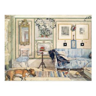 Comfortabele Hoek door Carl Larsson Briefkaart